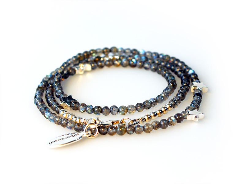 Labradorit-Armband von silberausch, 925 Sterling Silberschmuck aus ... 7cffd48a69